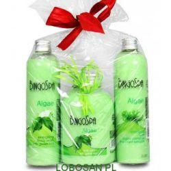 Zestaw upominkowy  Algi z zieloną herbatą BingoSpa...