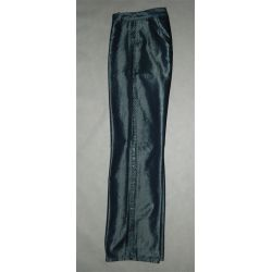 błyszczace spodnie, lampasy  (pas 78 cm)