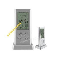 STACJA POGODY Termometr 172509 BUDZIK ZEGAR WYPRZE