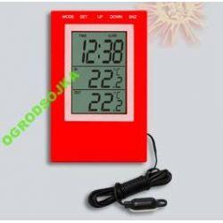 stacja pogody termometr 170504 BATERIE GRATIS BUDZ