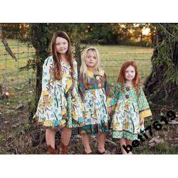 SALE markowa cudna sukienka VINTAGE 80-86
