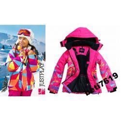 KURTKA 152 158 SOFTSHEL narciarska zimowa polar