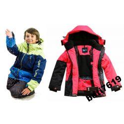 KURTKA 92 98 SOFTSHEL narciarska zimowa SUPER