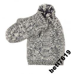 komplet 98 czapka + rękawiczki MOTHERCARE 1-3 lat