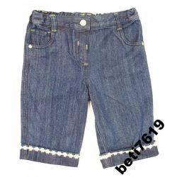UK SZORTY bermudy spodnie jeansy roz 86 GEORGE
