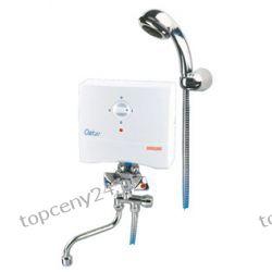 Ogrzewacz jednofazowy serii Oskar OP - 5 S, umywalkowo -  prysznicowy, Biawar