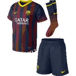 Komplet piłkarski NIKE FC Barcelona Jr 532805-412