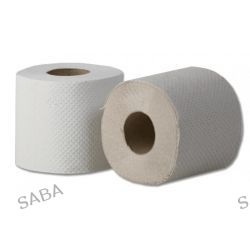 Papier toaletowy w rolce Grasant, biały 30 m, 2 warstwowy (4 szt) do normalnych pojemników na papier toaletowy