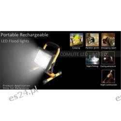 akumulator przenośny światła LED 10W