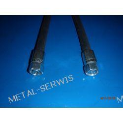 Wąż Hydrauliczny / Długość 1,0 mb / DN12 2SN 275 bar / prosta - M22x1,5 - prosta M22x1,5 / klucz 27
