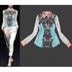 606-M HIT KOSZULA Modelki Orient Koszule BLUZKI M