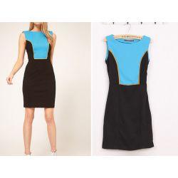 587-S Elegancka SUKIENKA Ołówkowa Sukienki S 36