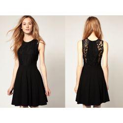 542-S Elegancka Koronkowa SUKIENKA sukienki S 36