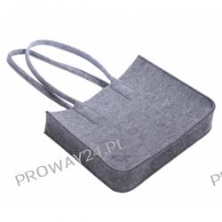 Filcowa torba na zakupy - 38x30x8cm - 50sztuk z LOGO