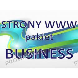 Strona WWW - Pakiet BUSINESS - Projektowanie stron WWW