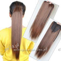 Kucyk - Kitka 60cm Włosy 100% Naturalne  GĘSTE