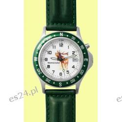 Zegarek z motywem Byka, pasek skórzany  Zegarki