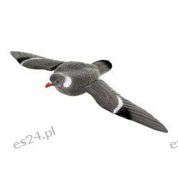 Wabik gołąb ze skrzydłami, flokowany