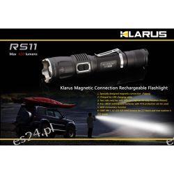 Latarka Klarus RS11 620 lumenów + GRATIS ładowarka samochodowa