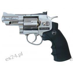 Wiatrówka - rewolwer Dan Wesson 2,5'' 4,5 mm Silver Zegary