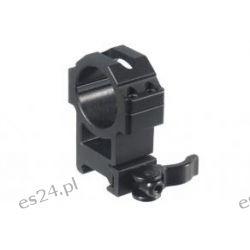 Montaż szybki dwuczęściowy wysoki Leapers UTG 30/weaver Quick Detach 4 śruby