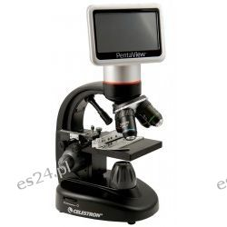 Mikroskop cyfrowy Celestron LCD PentaView Zegary