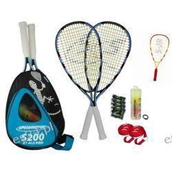 Promocyjny zestaw rodzinny Speedminton S200 Tenis i pokrewne