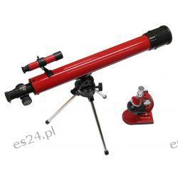 Teleskop gwiezdny Tasco 50x50 Speciality zestaw z mikroskopem (49TN) Pozostałe