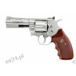 Wiatrówka - rewolwer Colt Python 4'' 4.5 mm - nikiel (023-016) KB
