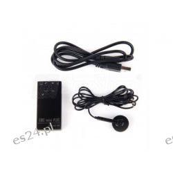 Mały dyktafon Edic mini Plus A9 do podsłuchu pracowników Dyktafony