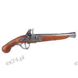 Replika niemieckiego pistoletu skałkowego z XVII w.