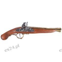 Replika niemieckiego pistoletu skałkowego z XVII w. L