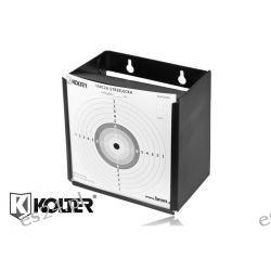 Kulochwyt metalowy K-17-5 KOLTER 17x17 cm do karabinków ponad 17 J Zegary