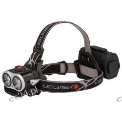 Latarka Led Lenser XEO19R Black zestaw Pozostałe