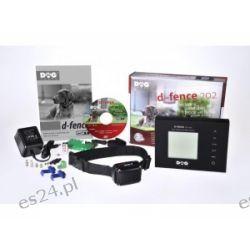 Elektroniczny niewidzialny płot DOGTRACE d-fence 202 czarny  Pozostałe