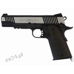 Pistolet GBB Cybergun Colt 1911 Rail - dual tone (180525)