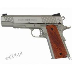 Pistolet GBB Cybergun Colt 1911 Rail - silver (180530)