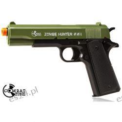 Pistolet ASG Combat Zone Zombie Hunter sprężynowy