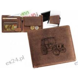 Skórzany portfel pionowy z motywem Zetor 55  Pozostałe
