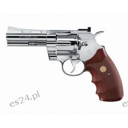 "Wiatrówka - rewolwer Colt Python .357 4"" 4,5 mm - nikiel (5.8192)"