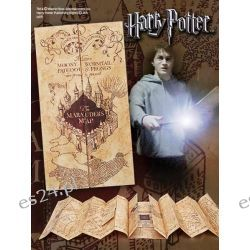 Mapa Huncwotów Harry Potter Replica Marauder Map Mapy, przewodniki, książki podróżnicze