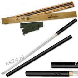 Miecz Zatoichi Hand Forged Sword Black Militaria