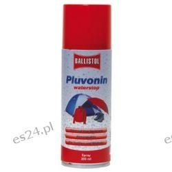 BALLISTOL PLUVONIN spray 200 ml Impregnat do tkanin w aerozolu Pozostałe