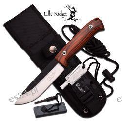Nóż Survivalowy Elk Ridge Bushcraft Zegary