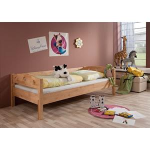 łóżko Młodzieżowe Z Barierką I Materacem 200x90 Na Bazarekpl