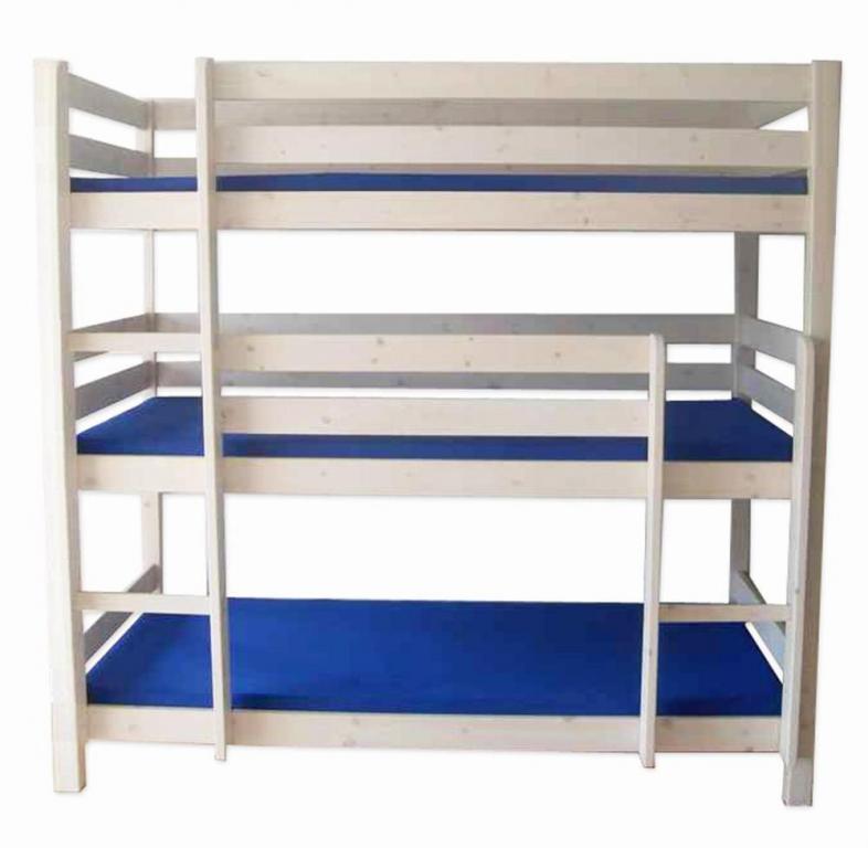 łóżko Piętrowe 3 Osobowematerace 200x90 Cm Na Bazarekpl