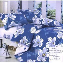 Model - POŚCIEL bawełna Mengtianzi DUŻA (200x220) niebieska B-450