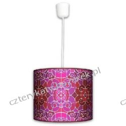 Lampa wisząca Witraż mozajka Lampy
