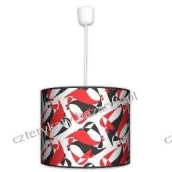 Lampa wisząca Black Red White Garderoby i szafy