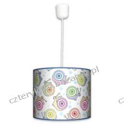 Lampa wisząca Ślimaki Lampy